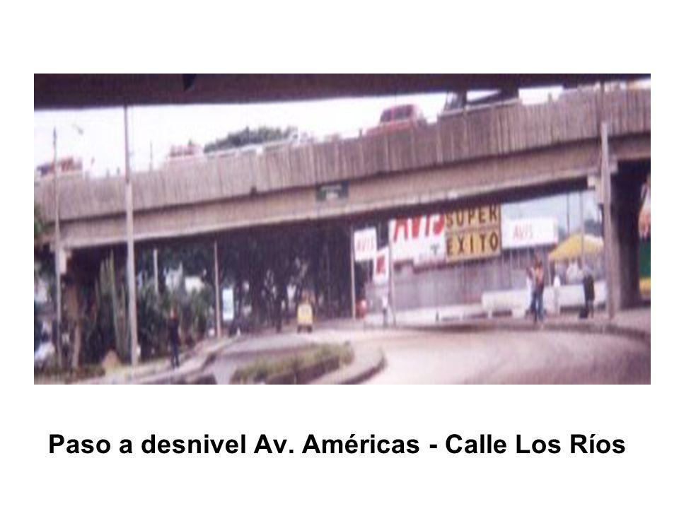 Paso a desnivel Av. Américas - Calle Los Ríos