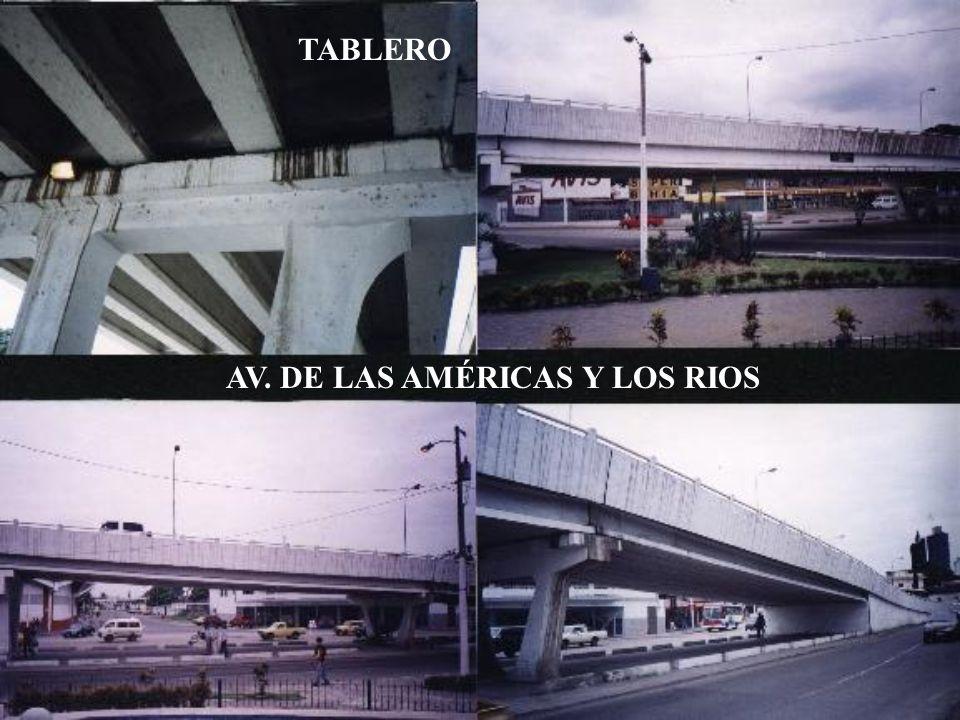 TABLERO AV. DE LAS AMÉRICAS Y LOS RIOS