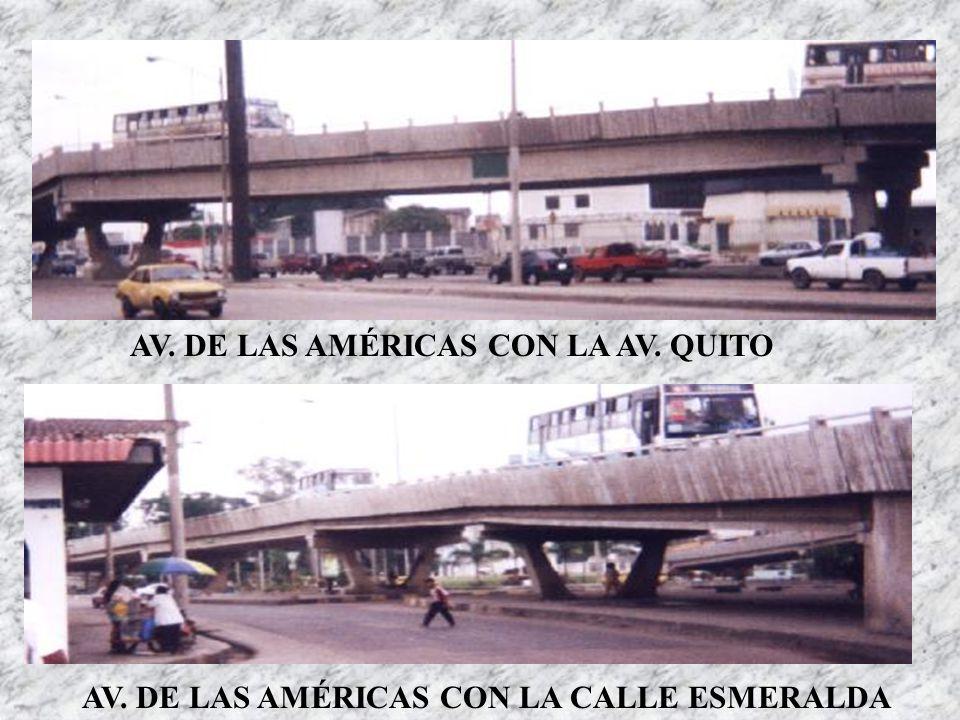 AV. DE LAS AMÉRICAS CON LA AV. QUITO