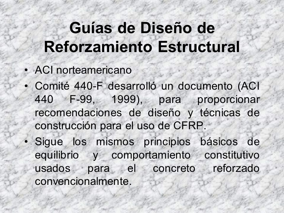 Guías de Diseño de Reforzamiento Estructural