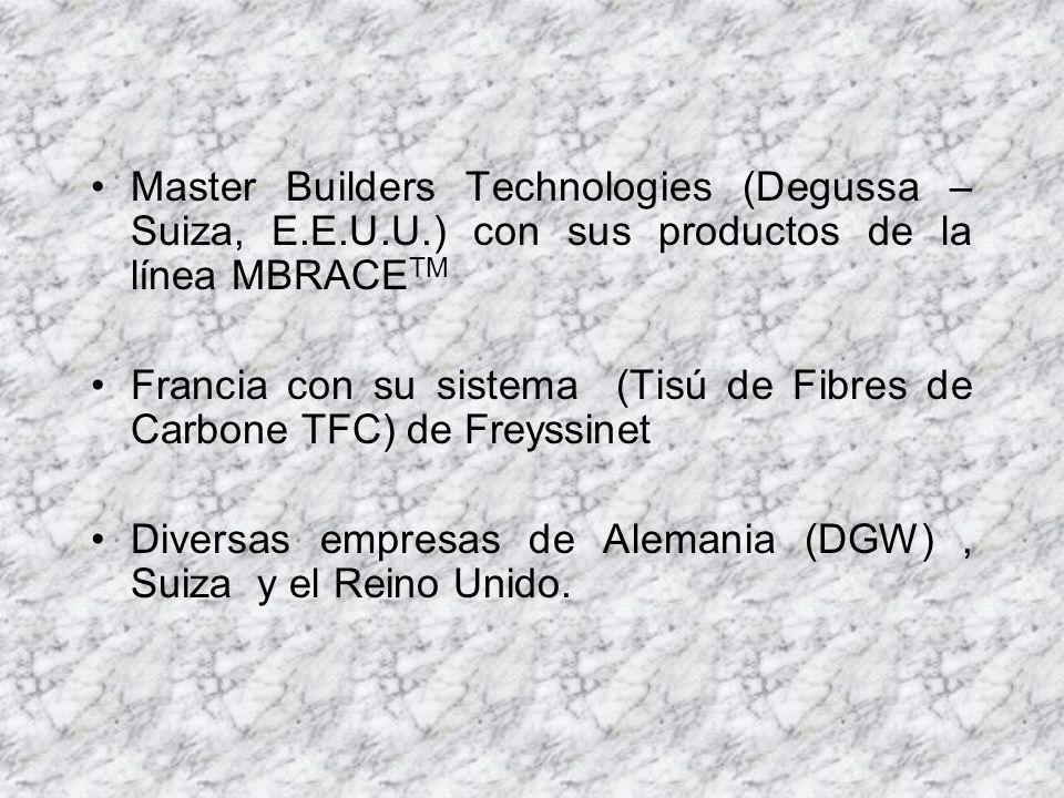 Master Builders Technologies (Degussa – Suiza, E. E. U. U