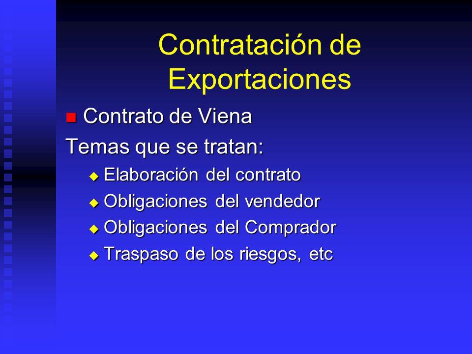Contratación de Exportaciones