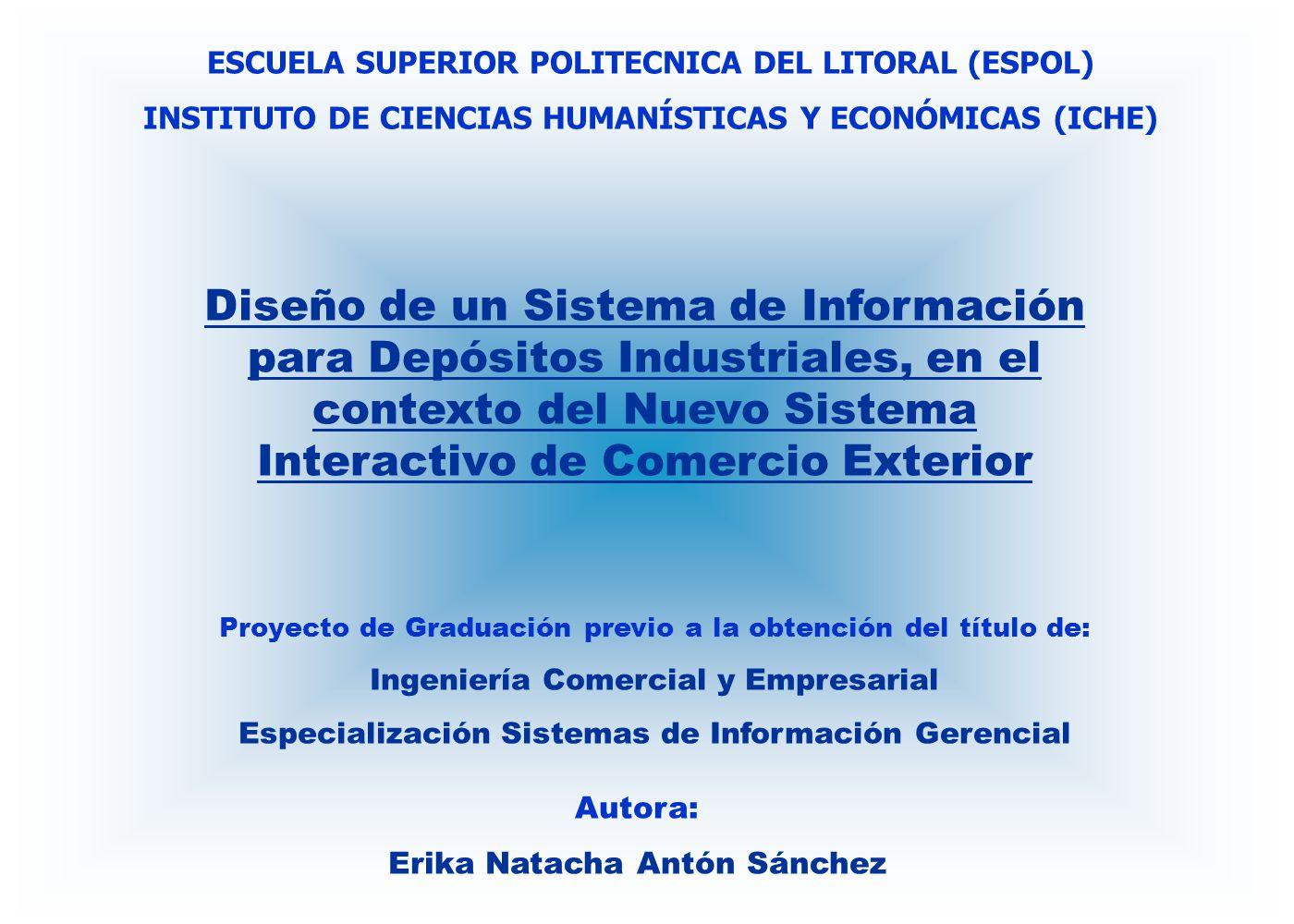ESCUELA SUPERIOR POLITECNICA DEL LITORAL (ESPOL)
