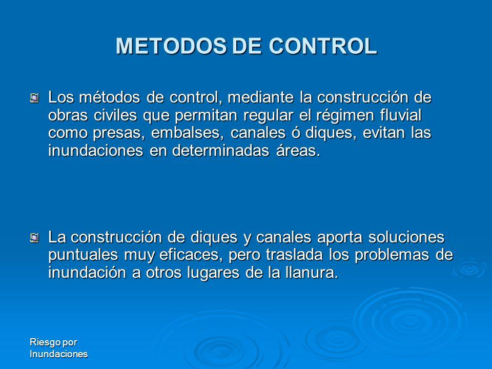 METODOS DE CONTROL