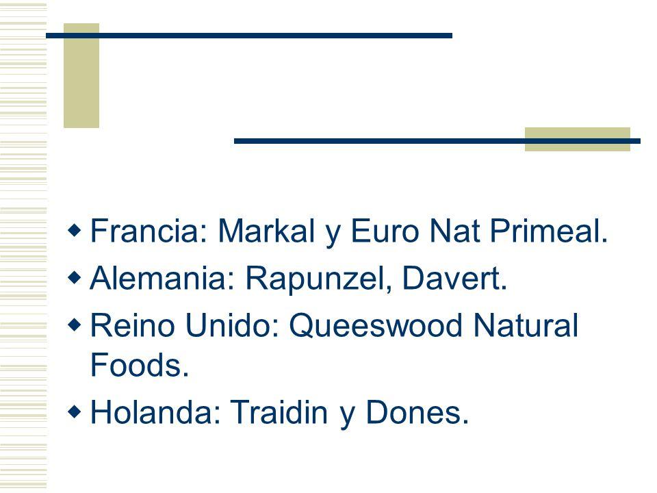Francia: Markal y Euro Nat Primeal.