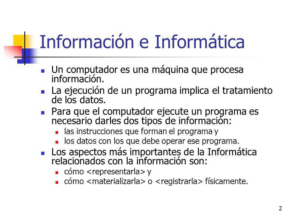 Información e Informática