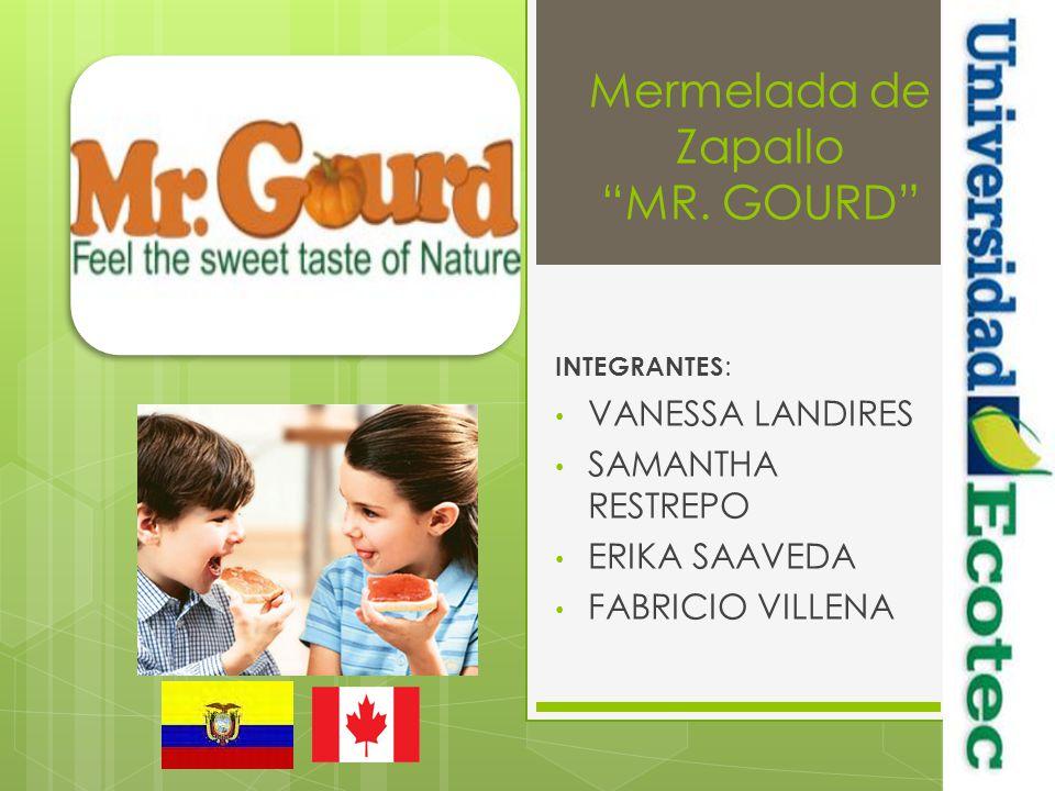 Mermelada de Zapallo MR. GOURD