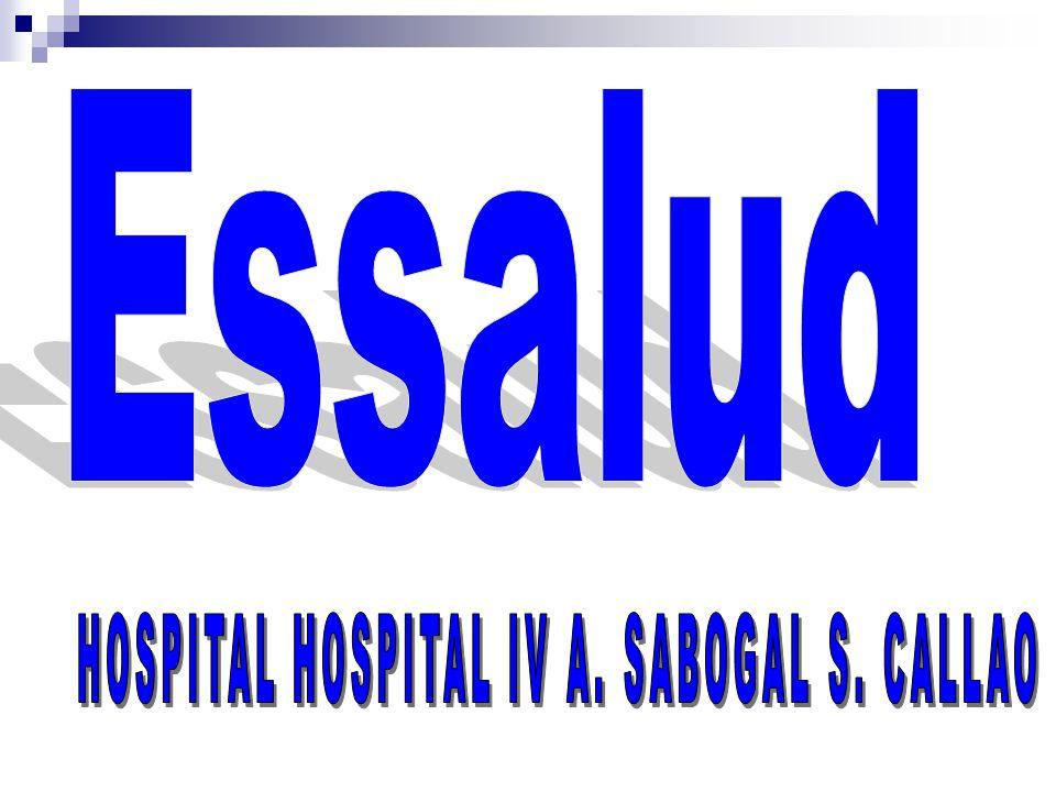HOSPITAL HOSPITAL IV A. SABOGAL S. CALLAO