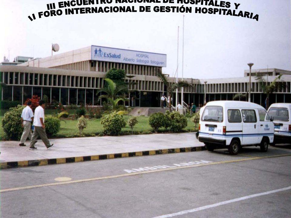 III ENCUENTRO NACIONAL DE HOSPITALES Y