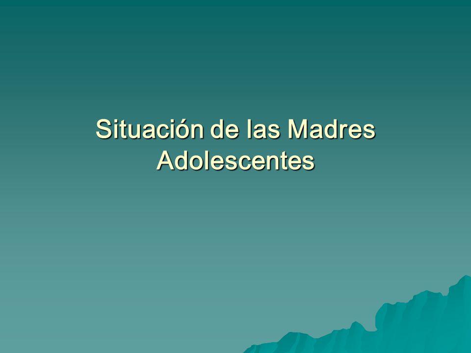 Situación de las Madres Adolescentes