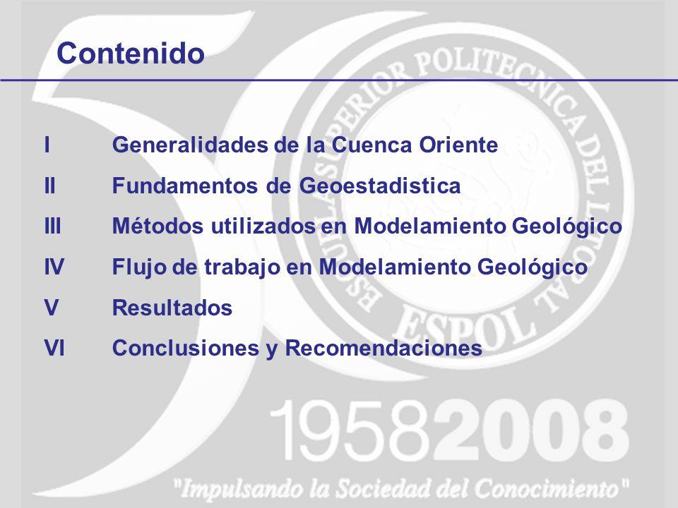 Contenido I Generalidades de la Cuenca Oriente