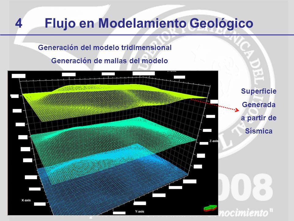 Generación del modelo tridimensional Generación de mallas del modelo