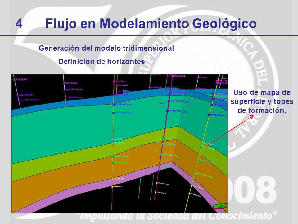 4 Flujo en Modelamiento Geológico