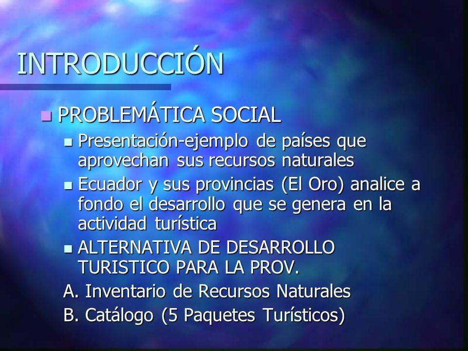 INTRODUCCIÓN PROBLEMÁTICA SOCIAL