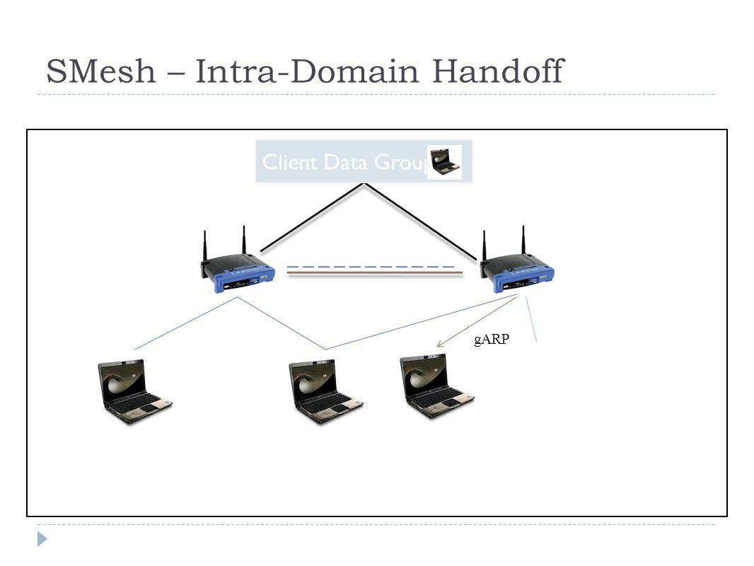 SMesh – Intra-Domain Handoff