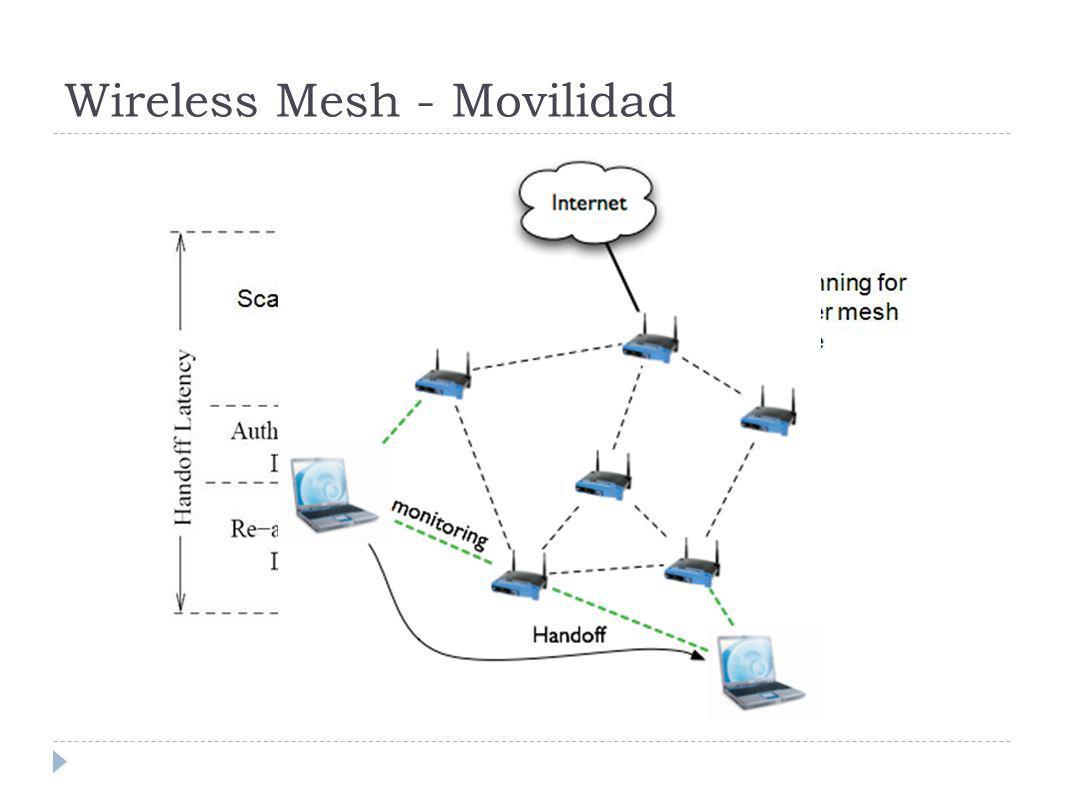 Wireless Mesh - Movilidad