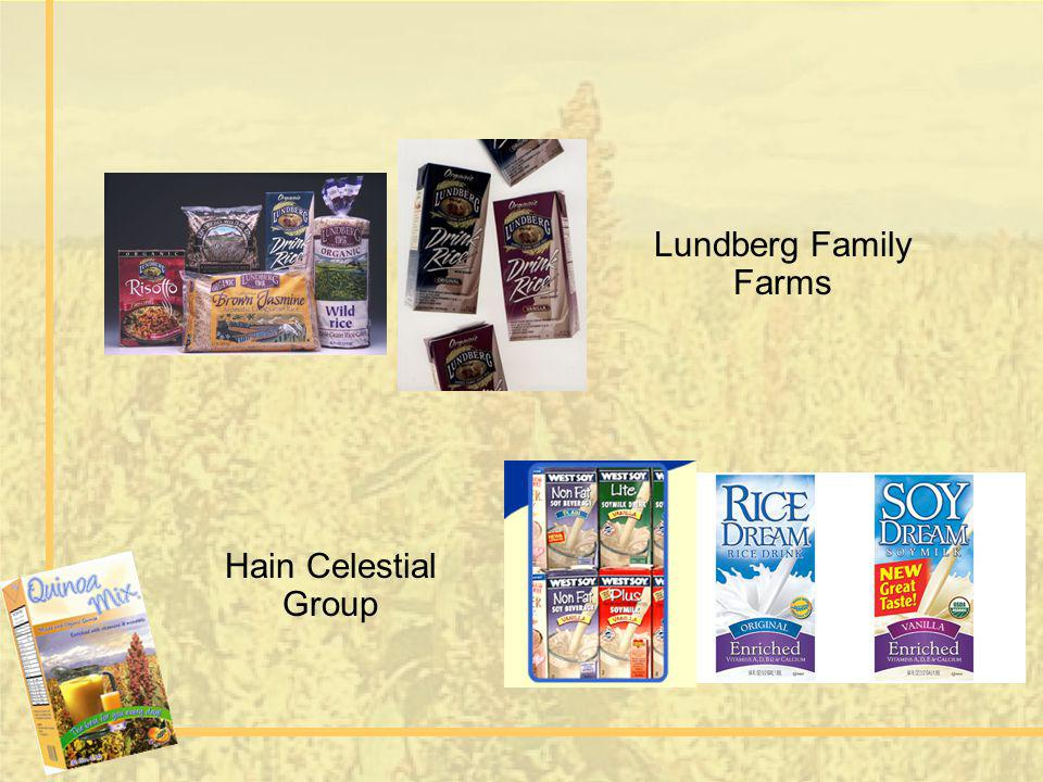 Lundberg Family Farms Hain Celestial Group