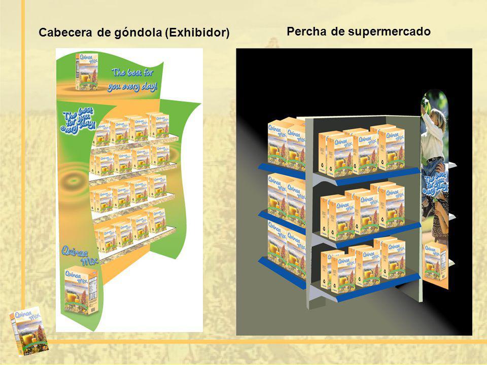 Cabecera de góndola (Exhibidor)