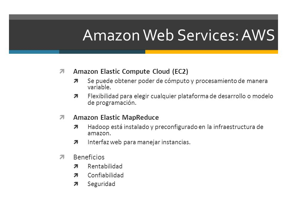 Amazon Web Services: AWS