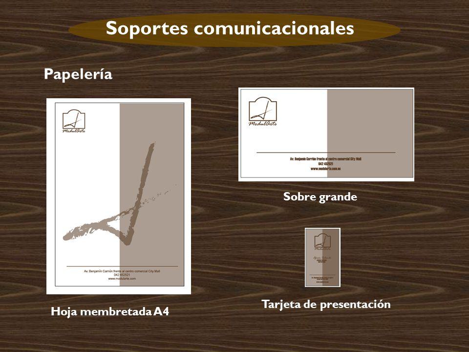 Soportes comunicacionales