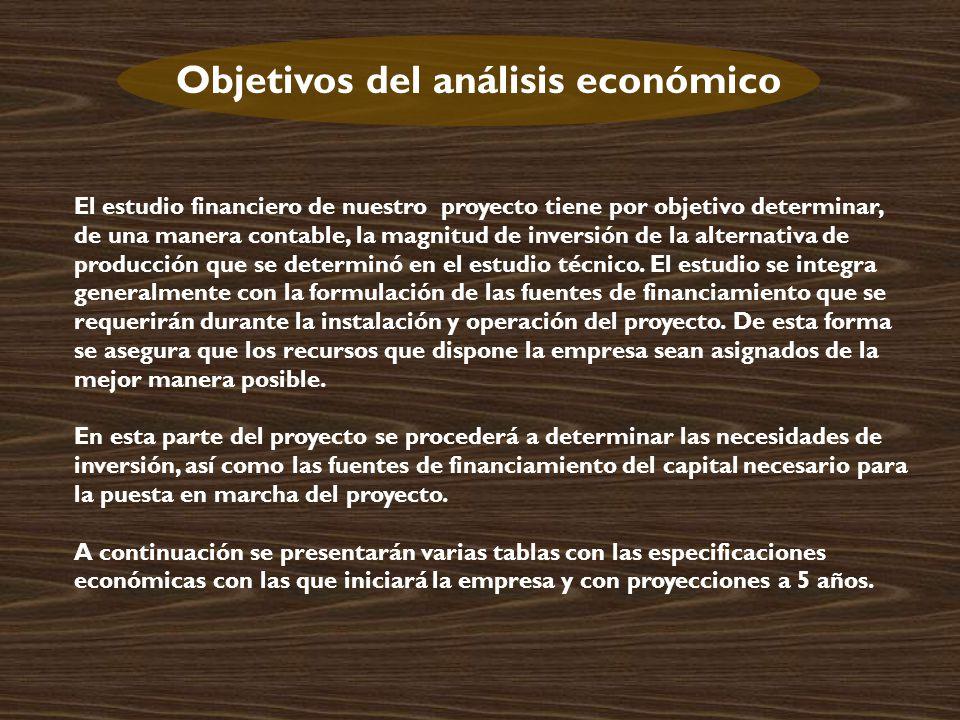 Objetivos del análisis económico