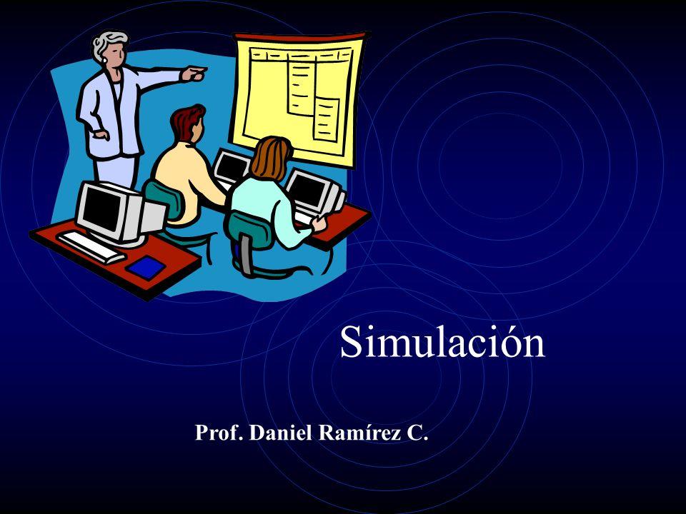 Simulación Prof. Daniel Ramírez C.