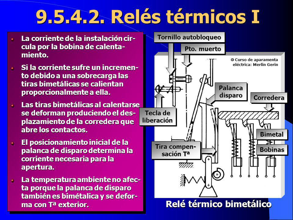 Relé térmico bimetálico