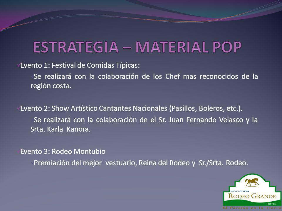 ESTRATEGIA – MATERIAL POP