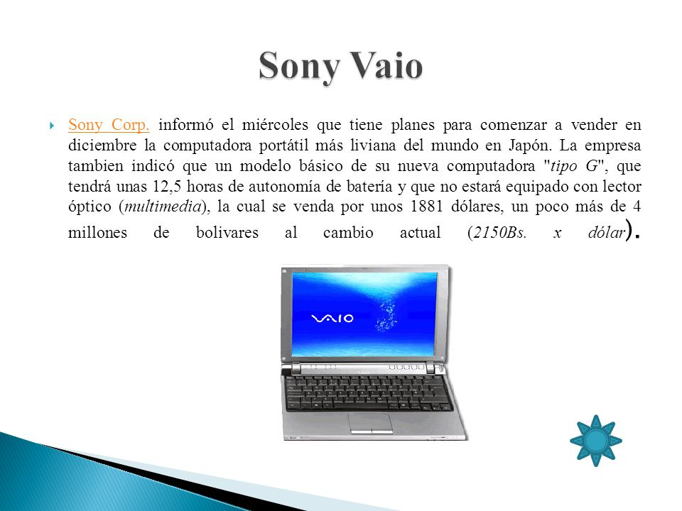 Sony Vaio