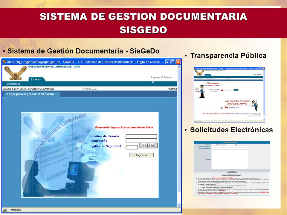 SISTEMA DE GESTION DOCUMENTARIA