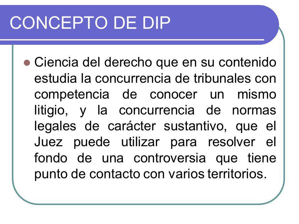 CONCEPTO DE DIP