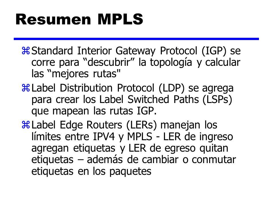 MPLS – Tecnología de Base