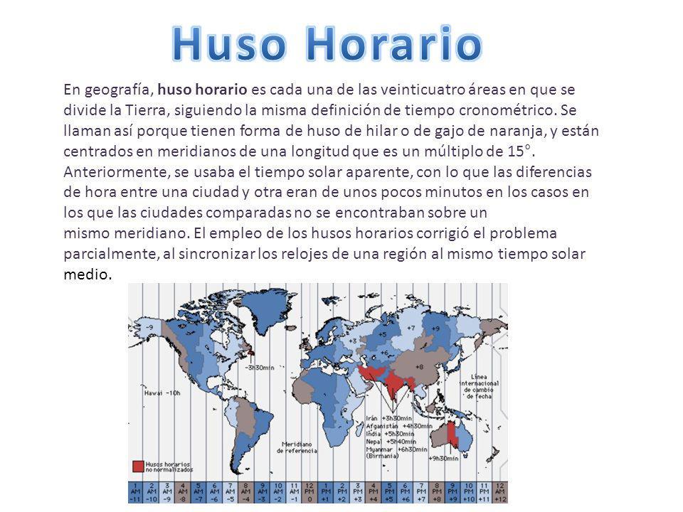 Huso Horario