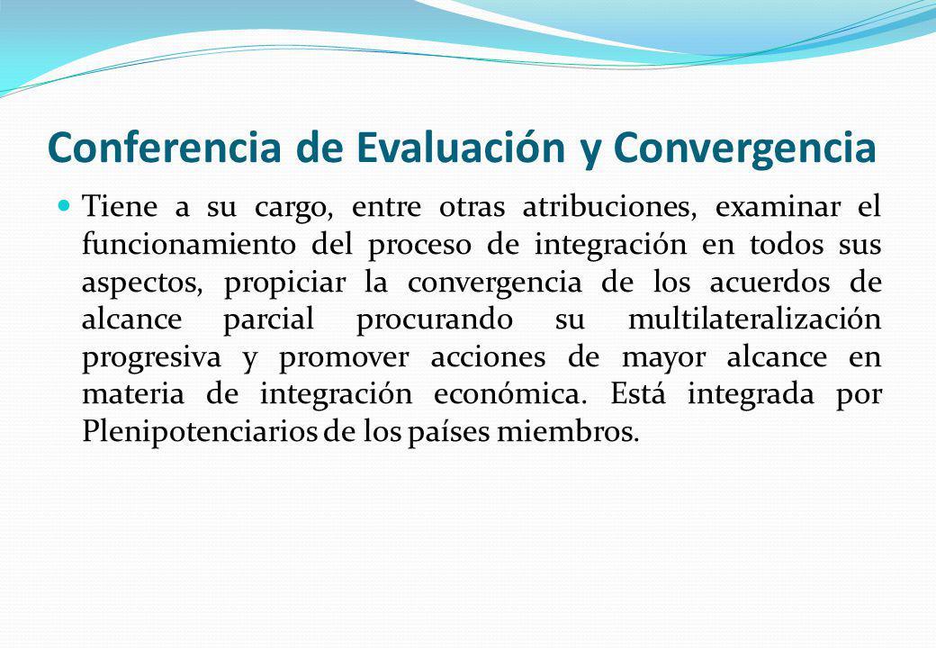 Conferencia de Evaluación y Convergencia