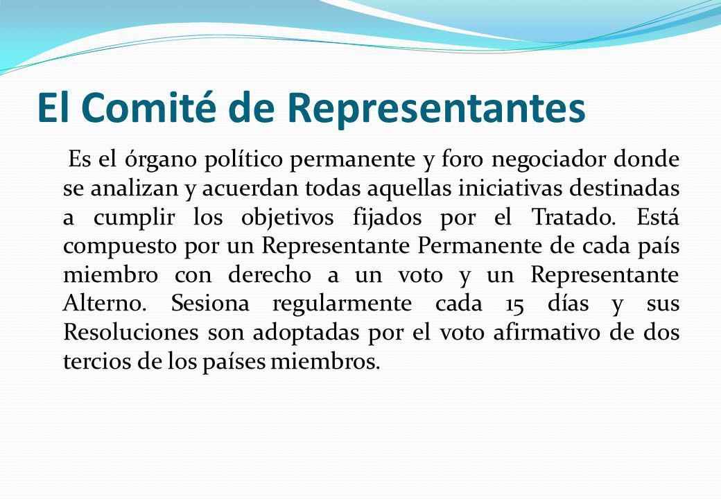 El Comité de Representantes