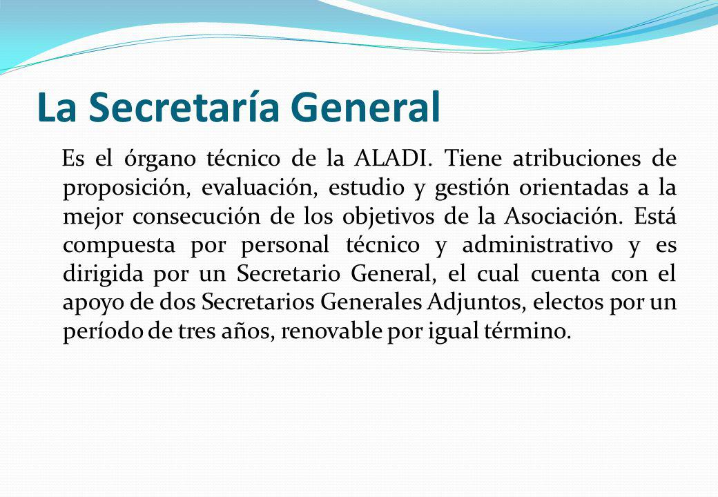 La Secretaría General