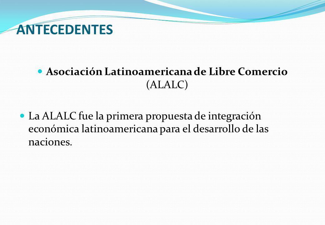 Asociación Latinoamericana de Libre Comercio (ALALC)