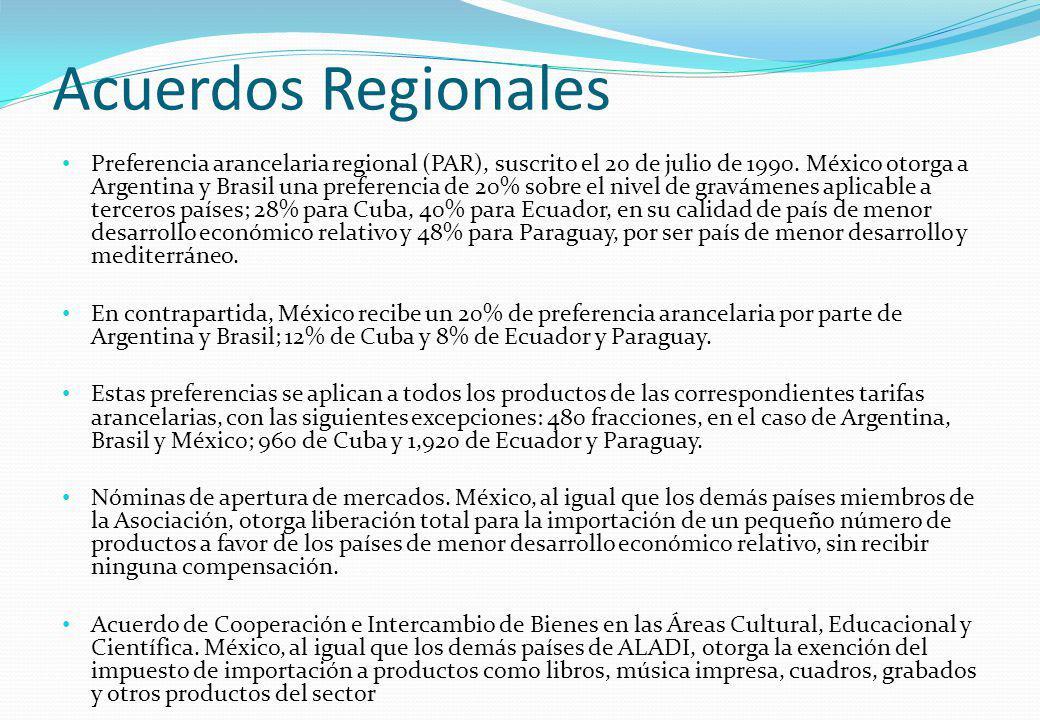 Acuerdos Regionales