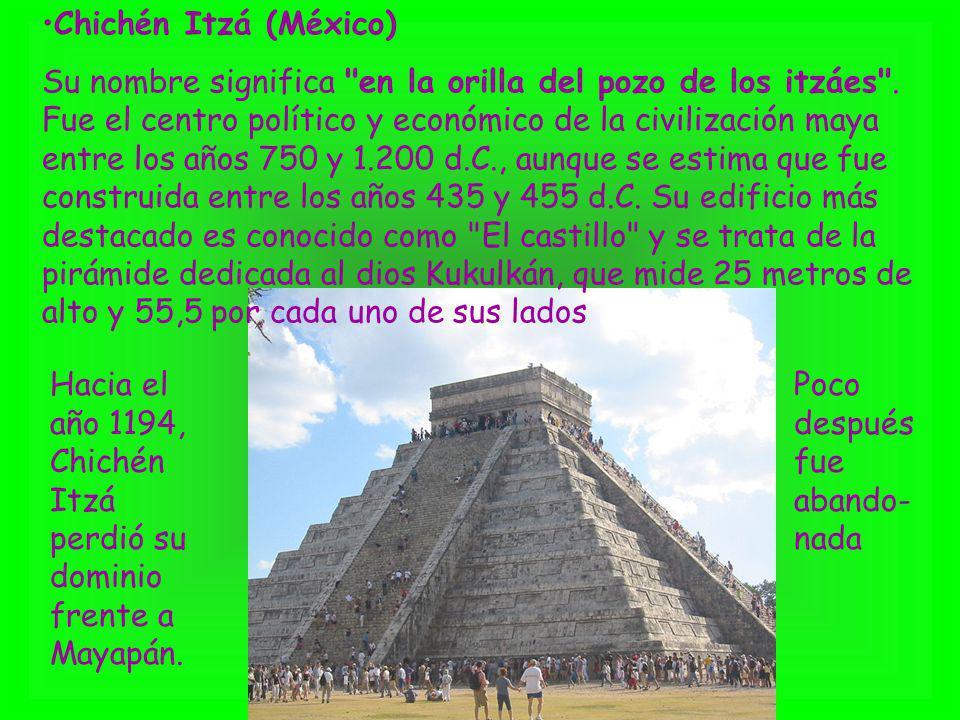 Chichén Itzá (México)