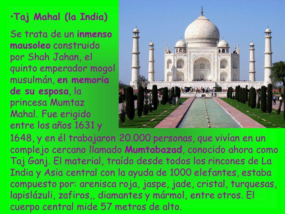 Taj Mahal (la India)