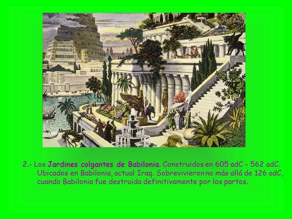 2. - Los Jardines colgantes de Babilonia