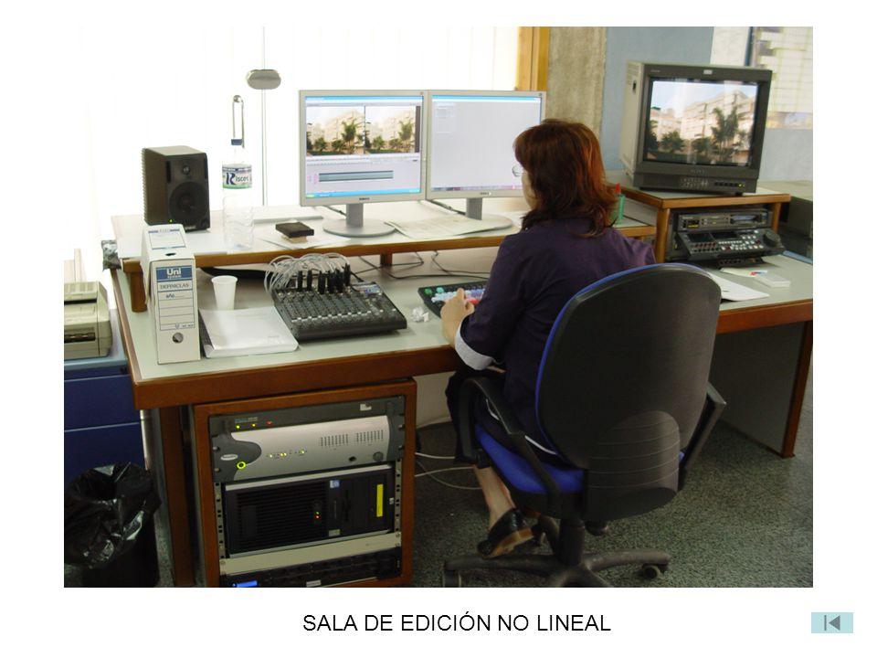 SALA DE EDICIÓN NO LINEAL