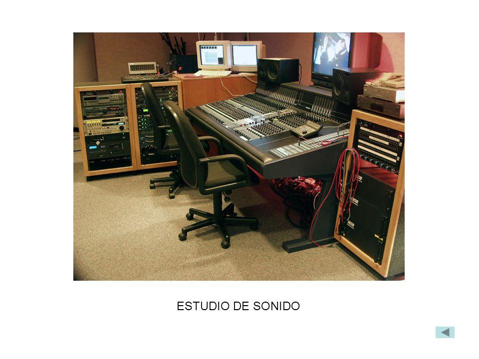 ESTUDIO DE SONIDO