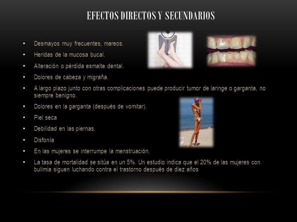 Efectos directos y secundarios