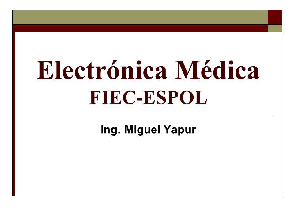 Electrónica Médica FIEC-ESPOL