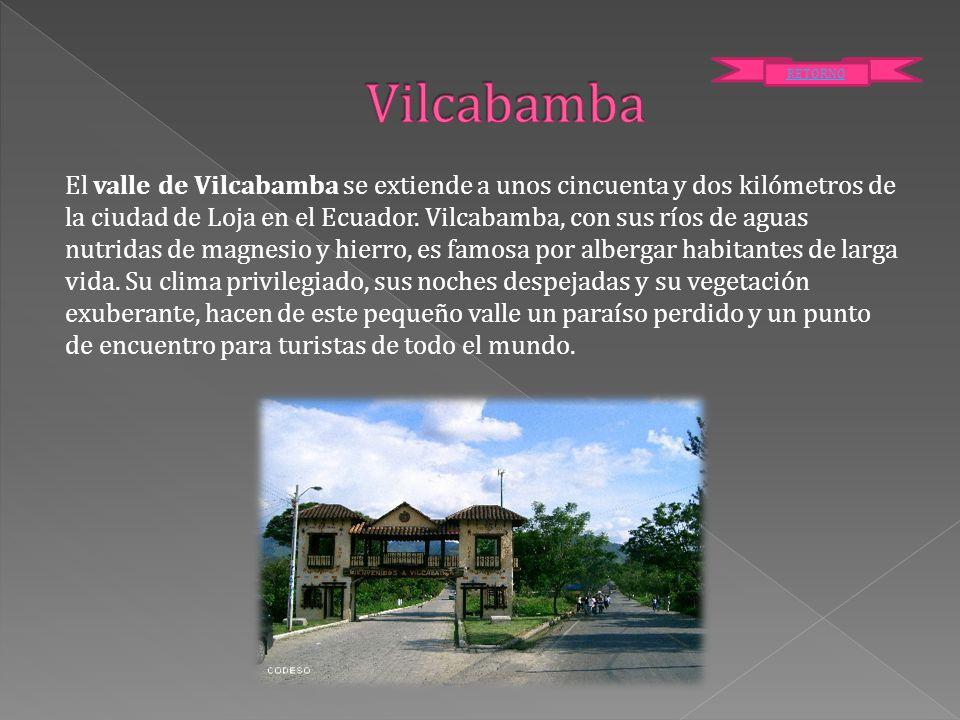 Vilcabamba RETORNO.