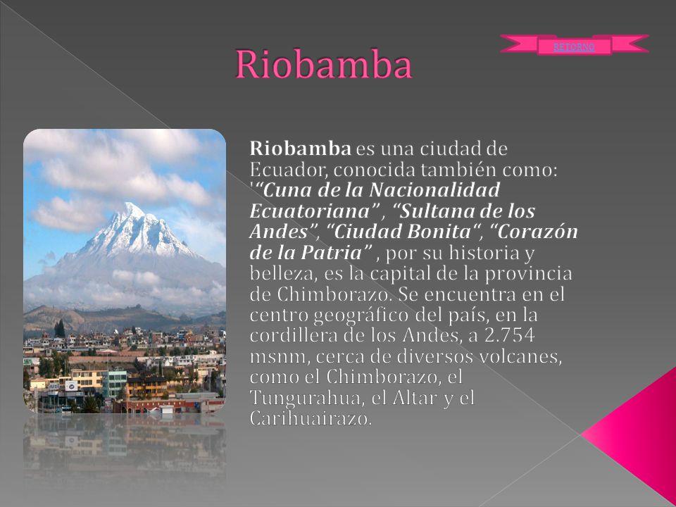 Riobamba RETORNO.