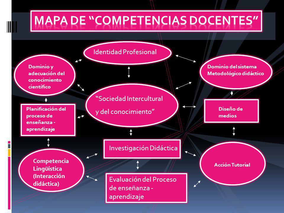 Mapa de Competencias Docentes