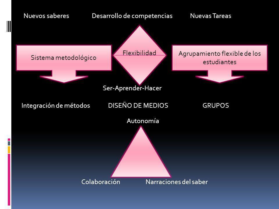 Agrupamiento flexible de los