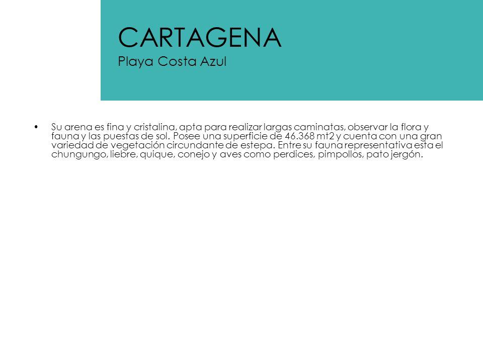 CARTAGENA Playa Costa Azul